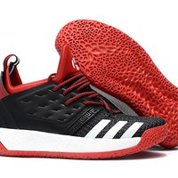 Adidas Harden Vol. 2 Black/Red/White Basketball Shoes US7-11.5