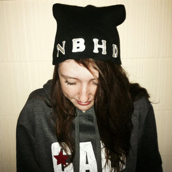 The Neighbourhood Band The NBHD Beanie by NotThemBasicTops on Etsy