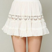 Free People  Viscose Voile Mini Slip at Free People Clothing Boutique