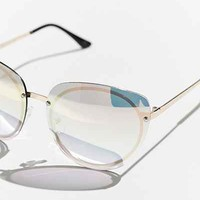 Rimless Cat-Eye Sunglasses - Urban Outfitters