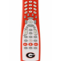 GameChanger 00030 UNIVERSITY OF GEORGIA Logo and Colors on ESPN-Enabled Button Universal Remote Control