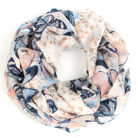 Dragonfly infinity scarf women winter flower echarpes foulards femme bufandas mujer 2015 shawls and scarves prices in euros