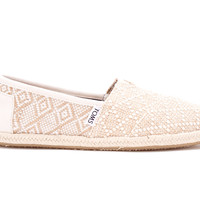 Natural Woven Rope Sole Women's Classics