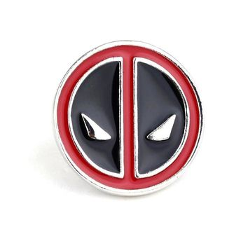 Deadpool Dead pool Taco Creative Cute Exquisite  Brooches For Men Charm Brooch Pin Round Metal Badges Cosplay Shirt Button Pin Jewelry Souvenir AT_70_6