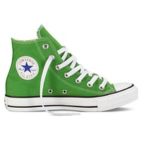 Converse Popular Women Men Casual High Help Canvas Flats Sport Running Shoes Sneakers Green I