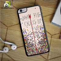 Hunger Games Quote iPhone 6S Plus case by Avallen