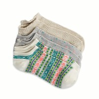 AEO Women's Printed Sock 3-pack