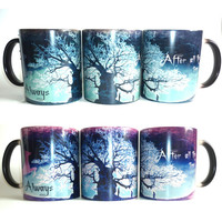 Drop shipping!new harry potter magic mug after all this time color changing mug for your best friends and kids gift