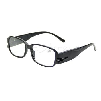 New Comlfy Unisex Multi Strength Night Vision Reading Presbyopia Diopter Eyeglass Glasses LED For Women Men WY2703