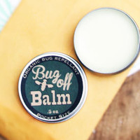 organic bug repellent / camping gear natural insect repellant organic natural summer gardener insect balm green summer gardening hiking