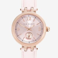 Round face watch - Pink   Luxury Gifts   Ted Baker
