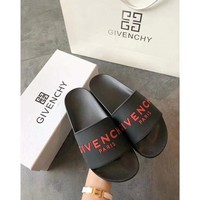 Red GIVENCHY SLIPPERS
