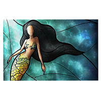 "Mandie Manzano ""Mermaid"" Decorative Door Mat"