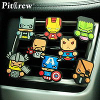 The Avengers, Star Wars, and Superman Car Air Fresheners