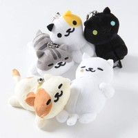 Neko Atsume Phone Cleaner Mascot Plushies