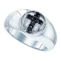 Diamond Fashion Ring in Sterling Silver 0.23 ctw