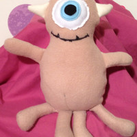 Lil Mikey plush toy inspired by Disney/Pixar Monsters Inc
