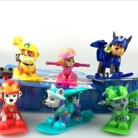 PAW PATROL ACTION PUP SET  EVEREST  RUBBLE RUBEN [9305768711]