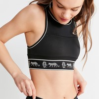 Champion + HVN for Urban Outfitters Leopard Bra Top | Urban Outfitters