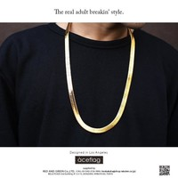 New Arrival Gift Shiny Jewelry Hip-hop Stylish High Quality Chain Necklace [10529029251]