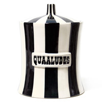 QUAALUDES CANISTER