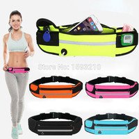 Running Belts Waist Pouch for Samsung Galaxy S5 mini Duos case Outdoor sports Cellphone Packs wallet Sport Travel Hiking Bags