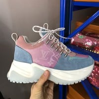 Louis Vuitton LV Women Men Fashion Casual Sports Shoes