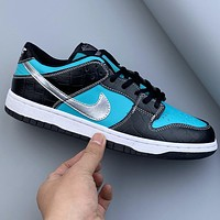 NIKE SB DUNK LOW PRO full palm Solo air cushion sports shoes for men and women