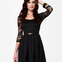 Land of the Laced Black Dress