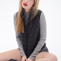 FOREVER 21 Quilted Puffer Vest