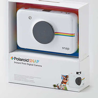 Polaroid Snap Instant Print Digital Camera, White