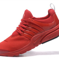 NIKE trend of running shoes casual shoes Red