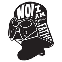 I Am Your Father Character-Type Wall Decal