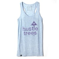 LRG - LRG Hustle Trees Marker Racerback - Blueberry - Shirts & Tees - Womens