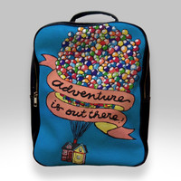 Backpack for Student - Adventure is Out There Pixar Disney Up Movie Bags