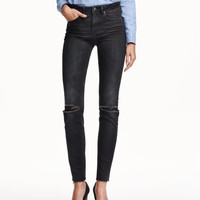 Slim High Ankle Jeans - from H&M