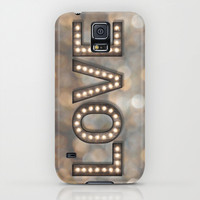 Love is the Light of Your Soul (LOVE lights) iPhone & iPod Case by soaring anchor designs ⚓   Society6