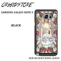 Marina And The Diamonds I Hate Everything For Samsung Galaxy Note 5 Case YG