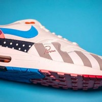 New Arrival Piet Parra x Nike Air Max 1 White Multi Retro Running Shoes AT3057-100