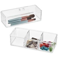 Acrylic Edge Stackable Boxes | The Container Store