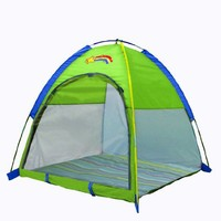 "Pacific Play Tents Baby Suite Deluxe Nursery Tent w/1.5"" Pad - Green"