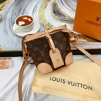 LV 2020 new mini women's drawstring bucket bag shoulder bag crossbody bag