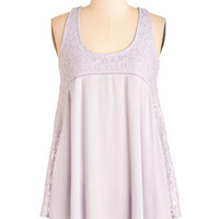 Boho Mid-length Racerback Have a Crepe Day! Top