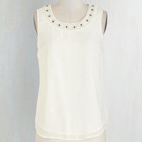 Mid-length Sleeveless Sweetness and Sunlight Top by ModCloth