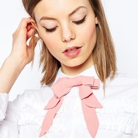 ASOS Pastel Multi Bow Neck Tie at asos.com