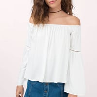 Dayle Off Shoulder Top