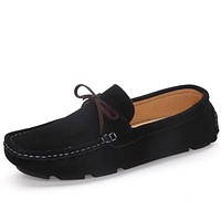 Suede Loafers - 5 Colors