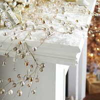 Beaded Garland - Champagne