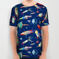 rockets in traffic All Over Print Shirt by Chicca Besso | Society6