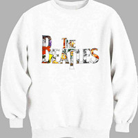 Beatles Logo collage Sweater for Mens Sweater and Womens Sweater ***